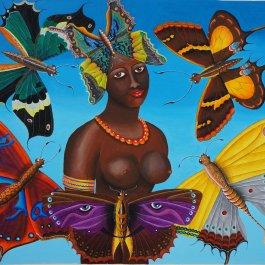 Mädchen aus Suriname