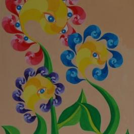 Drei Wunderblumen